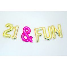 21 & FUN Balloons, Number 21 Balloons, Birthday Photo Prop, Number Bday, Yay Finally Gold Pink 21 21 & FUN Balloons Number 21 Balloons Birthday by 21st Birthday Captions, 21st Birthday Quotes, Happy Birthday Images, Birthday Photos, Birthday Bash, Birthday Wishes, Birthday Greetings, Funny Birthday, Birthday Captions Instagram