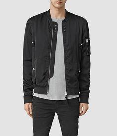Men's Moyle Bomber Jacket (Black) -