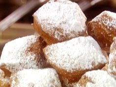 French Quarter Beignets from FoodNetwork.com
