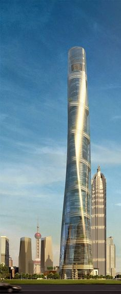 Shanghai Tower, China [Future Architecture: http://futuristicnews.com/category/future-architecture/]