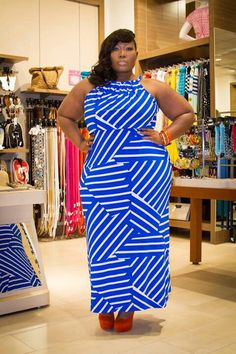 and life was given! Plus Size Maxi Dresses, Plus Size Outfits, Curvy Girl Fashion, Plus Size Fashion, Big Black Woman, Full Figure Fashion, Voluptuous Women, Curvy Outfits, Types Of Fashion Styles