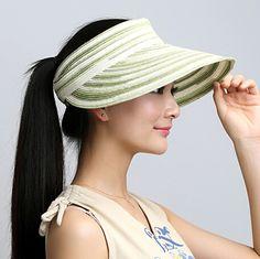 Fresh flower sun visor hat for riding package UV beach straw hats
