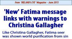 christina gallagher fatima link