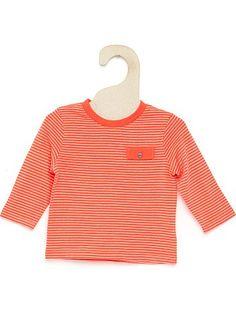 Kiabi Tricot T-shirt met borstzak                                                                                                                                                                                                                                                                                                                 wit Jongens babykleding