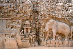 Mahabalipuram (Mamallapuram) wonders in rock