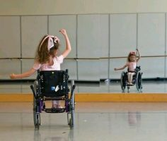 a dance is a dance even on a wheel chair