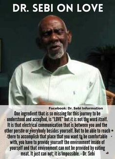 Dr Sebi had the cure so he was eliminated. Nutrition Education, Health And Nutrition, Health Tips, Health And Wellness, Health Fitness, Natural Health Remedies, Natural Cures, Natural Healing, Dr Sebi Diet