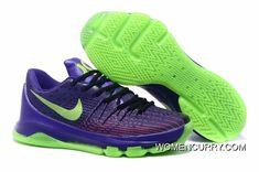 e3c98260f3f4  Suit  Nike KD 8 Purple Green Strike-Vivid Purple-Bright Crimson Cheap To  Buy
