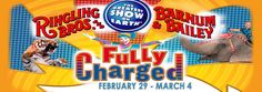 Ringling Bros and Barnum & Bailey March 1-4, 2012