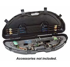 Plano® Protector Compact Bow Cases are designed to hold parallel limb bows. Compact design with thick wall construction, patented PillarLock™ system, and molded handles. Padded with high density foam