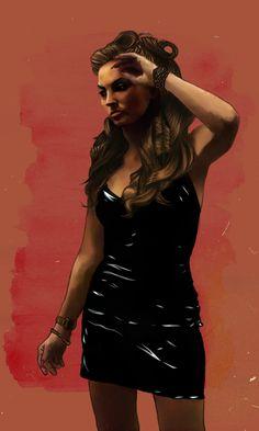 The Sopranos - Adriana La Cerva played by Drea de Matteo #GangsterMovie #GangsterFlick