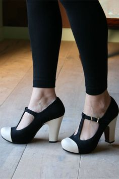 Chie Mihara t-strap heels - can I have them with green toes please?