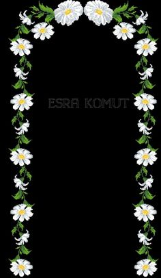 Beaded Embroidery, Hand Embroidery, Prayer Rug, Bargello, Amazing Flowers, Handicraft, Diy And Crafts, Daisy, Cross Stitch