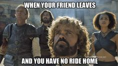 Because riding a dragon and leaving all your friends behind to die is pretty badass...