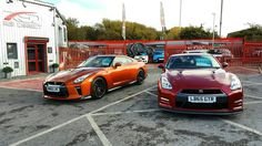 These two look menacing over 1100bhp combined this is what makes a GTR such good value 4 nothing comes close.  #GTR #nissangtr #MY17GTR