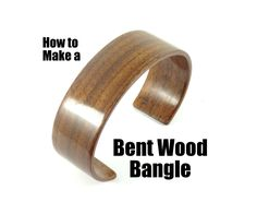 My name is Danial Rees from www.ZebranoWoodCraft.com and in this tutorial I will be making a Bent Wood Bangle Cuff Bracelet.In my opinion this was a tricky project...