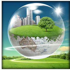 Desarrollo sostenible se basa en tres principios:Análisis del ciclo de vida de los materiales.Desarrollo del uso de materias primas y energías renovables.Reducción de materiales y energía utilizados en la extracción, explotación y destrucción o reciclaje de los recursos naturales.