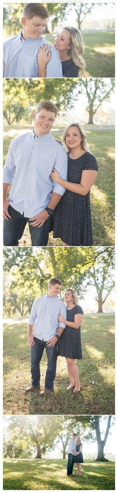 Lauren & David's E. Carroll Joyner Park engagement session, Wake Forest NC, Will Greene Photography