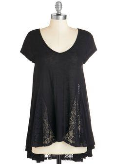 Lead the Sway Tunic | Mod Retro Vintage Short Sleeve Shirts | ModCloth.com