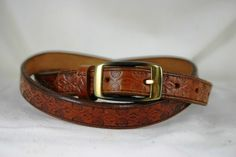Womans Custom Leather Belt by legacyleathercraft on Etsy, $25.00