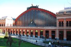 Atocha Train Station, Madrid, Spain    The Atocha Train station is the largest railway station in Madrid, Spain, and one of a kind in the world.
