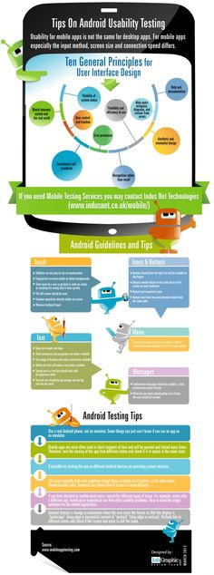 Tips On Android Usability Testing [INFOGRAPHIC]