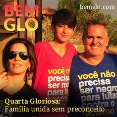 """Hoje a Gloria conta como trata do tema """"diversidade"""" dentro da sua família. Vem com a gente conferir! ;) #bemglo #quartagloriosa #diversidade"""