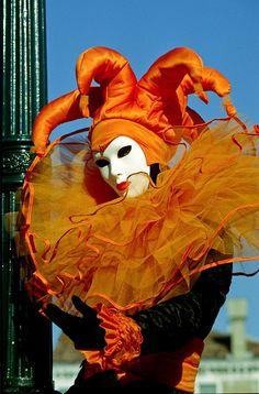 Orange jester...