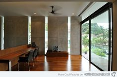 Sunset Terrace- An Impeccable Modern Bungalow in Singapore   Home Design Lover