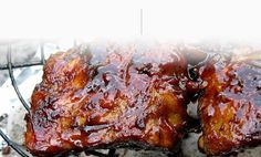 Finger-Licking, Barbequed Baby Back Ribs