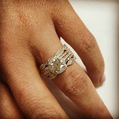 Stackable and stylish wedding bands. Customize your look at Shane Co.