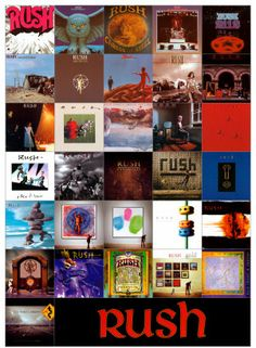 2. They've made over 20 studio albums. | Community Post: 10 Reasons Why Rush Are Absolutely Amazing