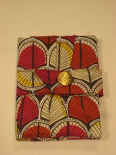 Deco Trees Passport Wallet - Gold Yellow Interior on Etsy, $15.00 CAD