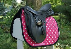 Your place to buy and sell all things handmade Horse Tack, Dressage Saddle, English Tack, Horse Accessories, Pink Bling, Friesian, Saddle Pads, Golf Bags, Crocs