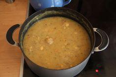 german food potato soup   (Kartoffelsuppe)