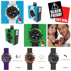 Biggest SALE of the year!! Cogito Watch Black Friday Special  SmartWatch perfect gift for the Holidays!  #Cogito #BlackFriday #ad