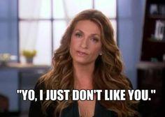Heather, proving her gangsta-ness by telling it like it is.