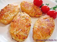 Вегетарианский рецепт рисовых котлет