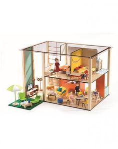Puppenhaus CUBIC in bunt