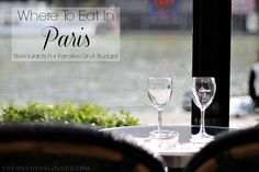 Looking for budget friendly family restaurants in Paris? We've got some great suggestions for where to eat in Paris around the major sites in the city!