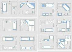 Planos de baños