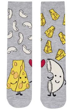 Mac 'n' Cheese Ankle Socks