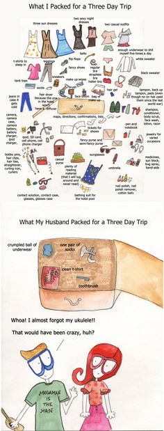 how to pack for a business trip woman