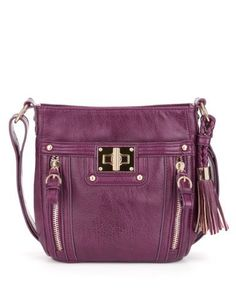 M&S Collection Glamour Turn Lock Cross Body Bag-Marks & Spencer