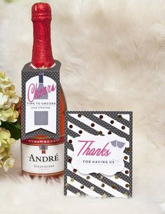 Wine anyone? Today, the Papertrey Ink team is showcases a wine stamp and die set. I've designed a wine tag to pair with a bottle and a thank you card to gift to a hostess. The new products will be available for purchase on November 15 at 10 pm EST at Papertrey Ink.I made a coordinating wine…
