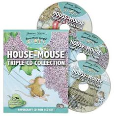 """""""House-Mouse 3 CD Collection"""", Stock #: HMD3CD, from House-Mouse Designs®. This item was recently purchased off from our web site. Click on the image to see more information."""