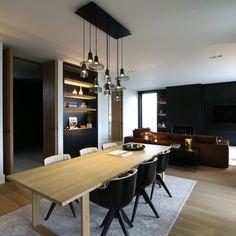 Mieke Van Herck Architectenbureau - House SR een verhaal van Carrara in zijn reinste vorm | eetkamer design | dining room | dining room design ideas | HOOG.design
