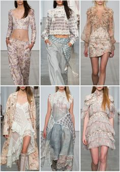 In this New York Fashion Week designer highlight, we look to Zimmermann's latest womenswear RTW collection. A touch of romanticism and soft prairie print looks drive this edgy collection for Spring 2017.