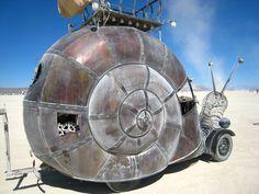Steampunk Snail Car - Almost a Chull!!!