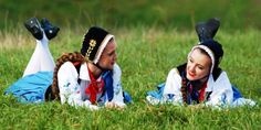 Folk Costumes Kaszuby Poland - Traditional wear Folk Costume, Costumes, Folklore, Poland, Traditional, How To Wear, Dress Up Clothes, Fancy Dress, Men's Costumes